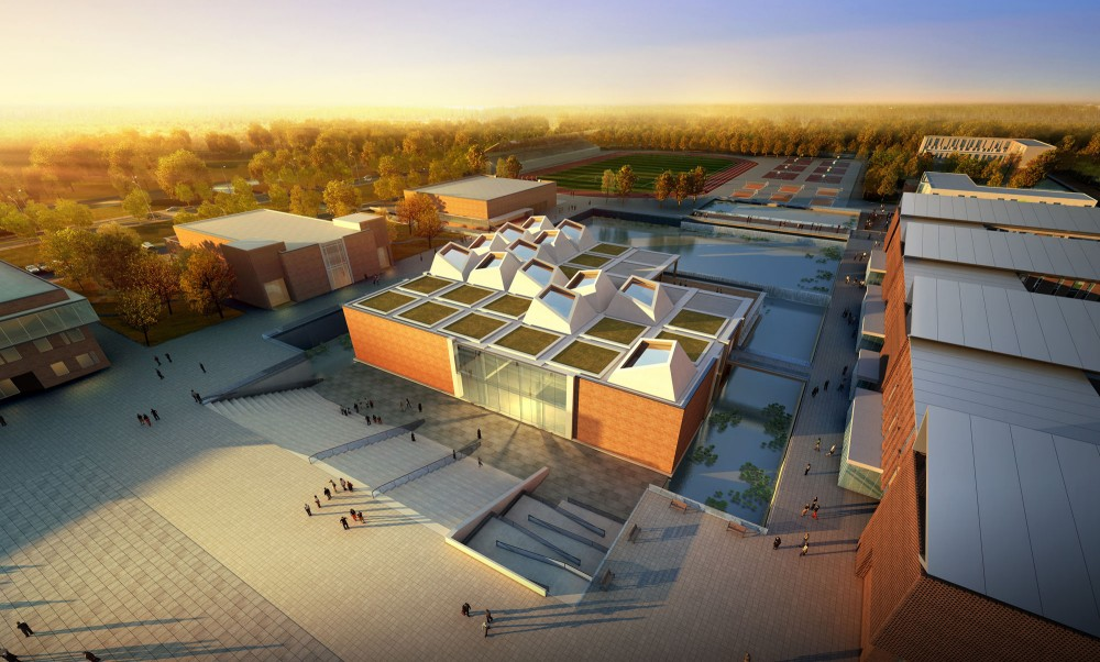 Kunshan Middle School Proposal / United Design Group