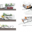 Kunshan Middle School Proposal (37) library diagram 02