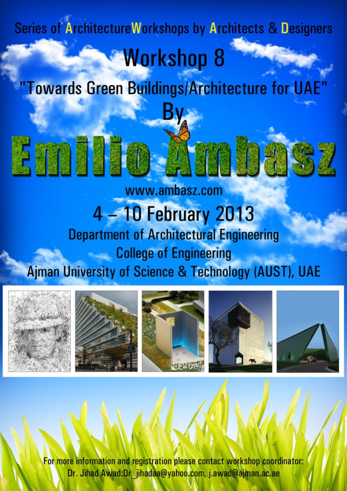 &#8216;Towards Green Buildings/Architecture for UAE?&#8217; Workshop