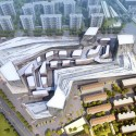 Shanghai Wuzhou International Plaza Winning Proposal (4) Courtesy of Synthesis Design + Architecture Inc. & Shenzhen General Institute of Architectural Design and Research