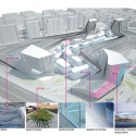 Shanghai Wuzhou International Plaza Winning Proposal (21) facade material diagram