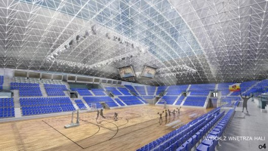 Sports Hall Competition Entry Studio El Archdaily