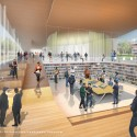 Proposals Unveiled for Kent State&#039;s new Architecture College (8) WEISS/MANFREDI Architecture/Landscape/Urbanism proposal; Courtesy Kent State University
