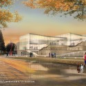 Proposals Unveiled for Kent State&#039;s new Architecture College (5) WEISS/MANFREDI Architecture/Landscape/Urbanism proposal; Courtesy Kent State University