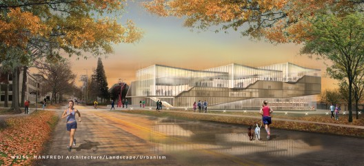 WEISS/MANFREDI Architecture/Landscape/Urbanism proposal; Courtesy Kent State University