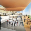 Proposals Unveiled for Kent State&#039;s new Architecture College (7) WEISS/MANFREDI Architecture/Landscape/Urbanism proposal; Courtesy Kent State University