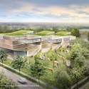 Proposals Unveiled for Kent State&#039;s new Architecture College (9) WEISS/MANFREDI Architecture/Landscape/Urbanism proposal; Courtesy Kent State University