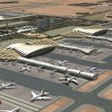 NACO's master plan for King Khaled International Airport in Riyadh, Saudi Arabia. HOK will now use the master plan to design the expansion of the airport - © NACO