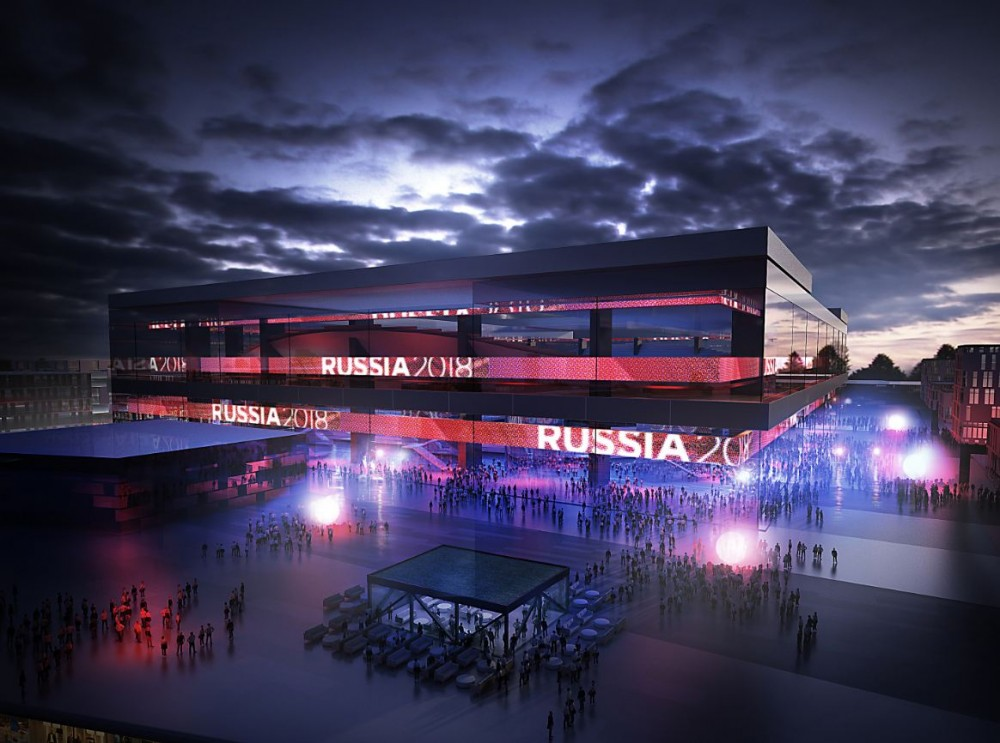 2018 FIFA World Cup Stadium Winning Proposal / Wilmotte &#038; Associs