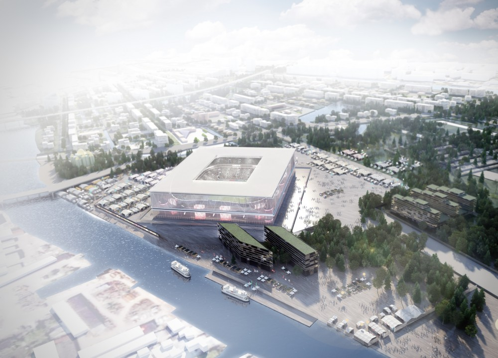 2018 FIFA World Cup Stadium Winning Proposal / Wilmotte & Associés