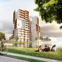 University of Southern Denmark Student Housing Winning Proposal (1) Courtesy of C.F. Møller Architects