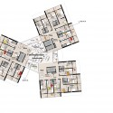 University of Southern Denmark Student Housing Winning Proposal (13) 5th floor plan