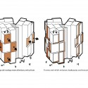 University of Southern Denmark Student Housing Winning Proposal (20) evolution diagram 01