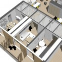 University of Southern Denmark Student Housing Winning Proposal (24) living unit detail diagram