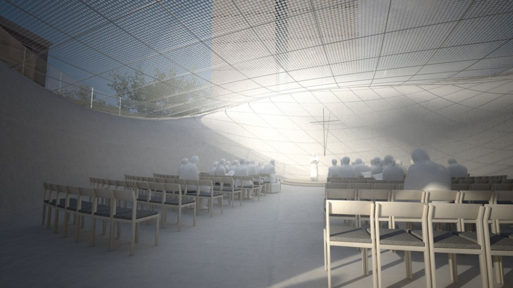 Doshisha Chapel Complex Competition Entry / BAKOKO + Structured Environment