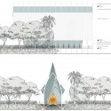 University of North Florida Interfaith Chapel Competition Entry (7) elevations