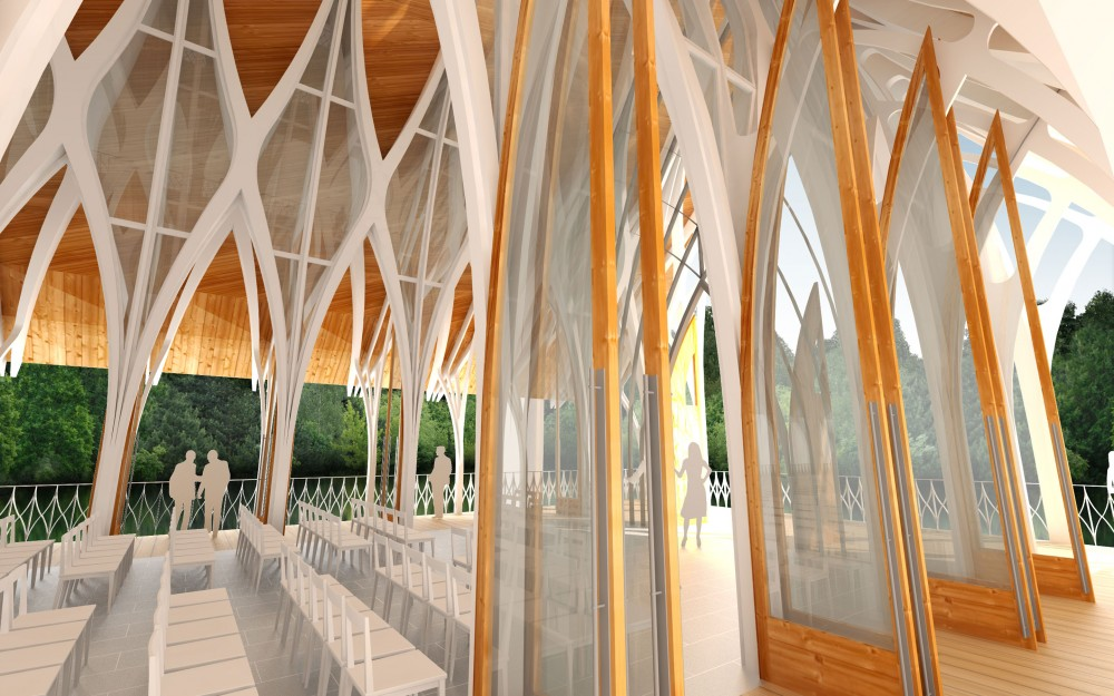 University of North Florida Interfaith Chapel Competition Entry / OAD