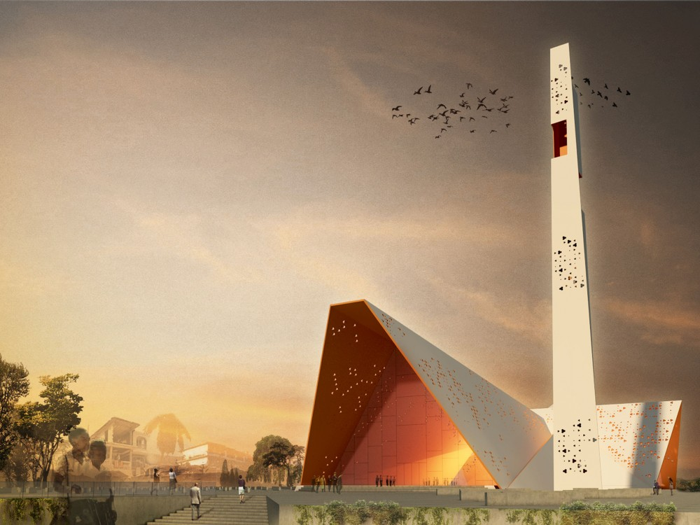 Notre Dame de l'Assomption – National Cathedral Competition Entry / YCF Group