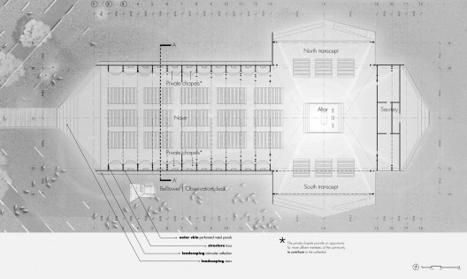 National Cathedral Floor Plan http://www.archdaily.com/322175/notre-dame-de-lassomption-national-cathedral-competition-entry-ycf-group/