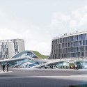 Valenciennes Technopole for Sustainable Mobility Competition Entry (1) © Studio Sezz