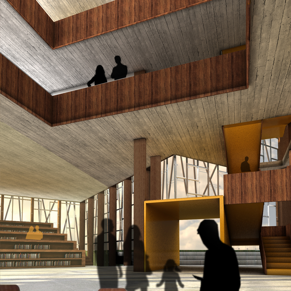 Vigdis Languages Center Proposal / OOIIO Architecture