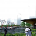 Detroit by Design 2012 Competition Winning Proposal (2) Perspective of Hart Plaza from boardwalk