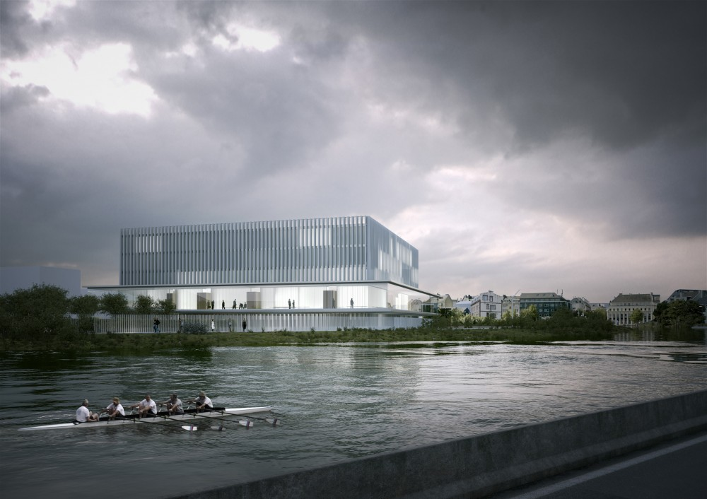 New Law Courts of Caen Competition Entry / Baumschlager Eberle