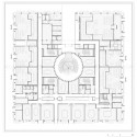 New Law Courts of Caen Competition Entry (10) first floor plan