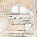 Innovative, Bioclimatic, European School Complex Second Prize Winning Proposal (5) topographic plan