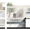 Innovative, Bioclimatic, European School Complex Second Prize Winning Proposal (10) details