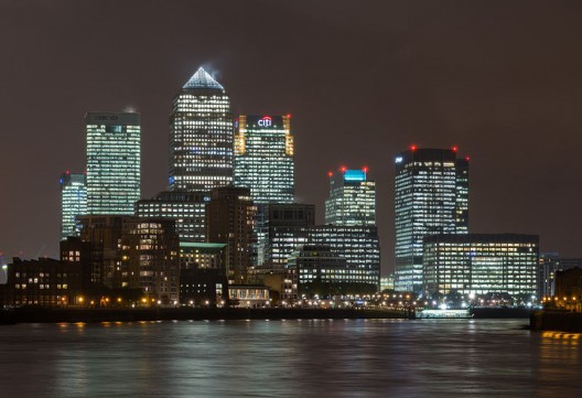 Canary Wharf © David Iliff via Wikipedia