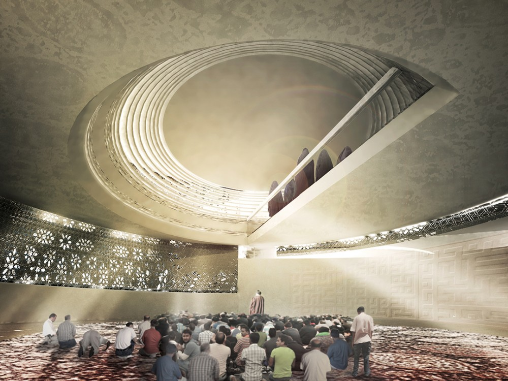 Mosque (Amir Al-Momenin) Proposal / CAAT Architecture Studio