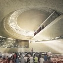 Mosque (Amir Al-Momenin) Proposal (7) Courtesy of CAAT Architecture Studio