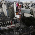 Graffiti Artist&#039;s Mural Honors Oscar Niemeyer (2)  Nacho Doce (Reuters)