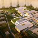 'Fields Of Knowledge' Sustainable Education Campus Second Prize Winning Proposal (1) Courtesy of ShaGa Studio + Auerbach Halevy Architects, and Doro Dietz