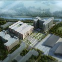 Beijing Agriculture University Library Winning Proposal (1) Courtesy of Tongji Architectural Design and Research Institute