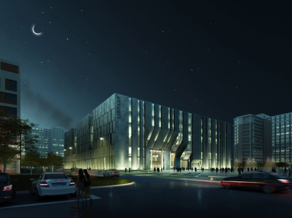 Beijing Agriculture University Library Winning Proposal / Tongji Architectural Design and Research Institute