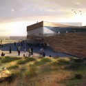 Render 2 View of Environmental Centre / Open Cinema © Groundlab