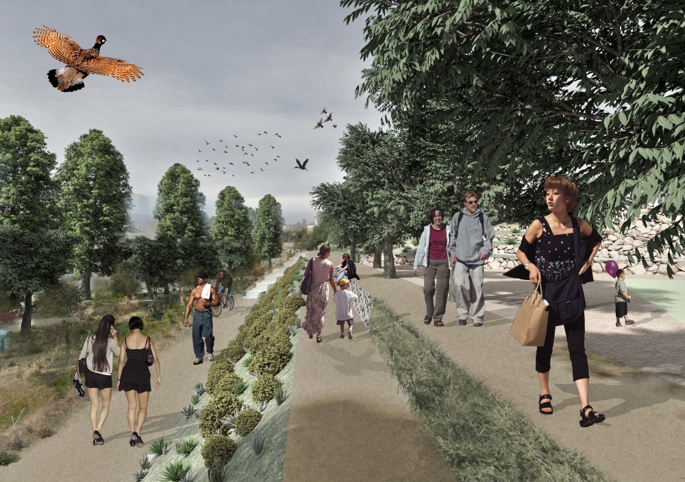 Urban Park of Palouriotissa Third Prize Winning Proposal / Groundlab + Clara Oloriz