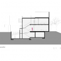 Casa Valna / JSa Arquitectura Longitudinal Section