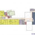 Madonna University - Franciscan Center for Science and Media / SmithGroupJJR Second Floor Plan