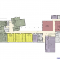 Madonna University - Franciscan Center for Science and Media / SmithGroupJJR First Floor Plan