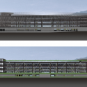 Wulai Parking Structure / QLAB Sections