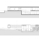 Villa Řitka / studio pha Section & elevation