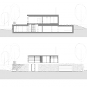 Villa ?itka / studio pha Section & Elevation