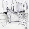 Environmental Interpretation Centre in Flores Island - Azores / Ana Laura Vasconcelos Sketch