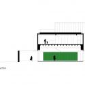 Studio R / Marcio Kogan Sección Longitudinal