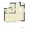 Villa Rieteiland-Oost / Egeon Architecten Ground Floor Plan