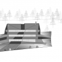 Dolomitenblick / PLASMA Studio South Elevation