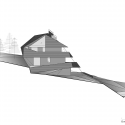 Dolomitenblick / PLASMA Studio West Elevation